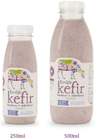 Fruity Kefir-Based Beverages