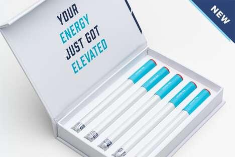 Lychee-Flavoured Caffeine Inhalers