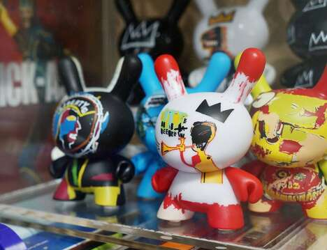 Artist-Inspired Collectible Vinyl Toys