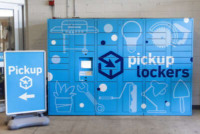 Contactless Pickup Lockers
