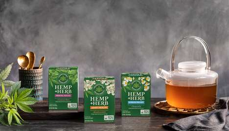 Hemp-Infused Herbal Teas