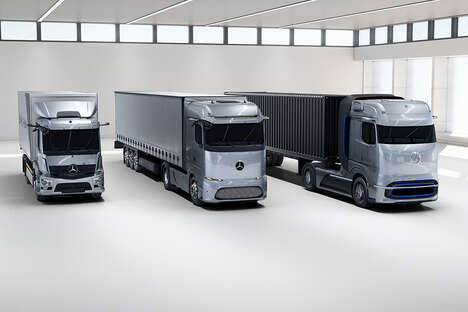 Eco-Friendly Cargo Trucks