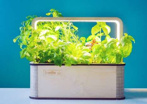 IoT-Connected Indoor Gardens