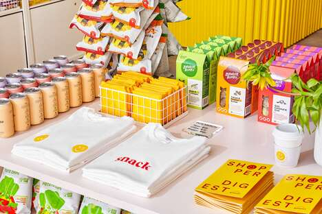 Millennial-Friendly Pop-Up Grocery Stores