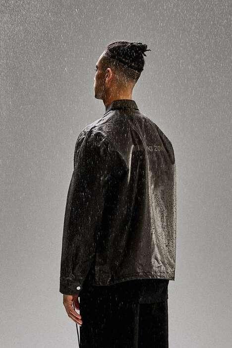 Translucent Fall-Ready Rainwear