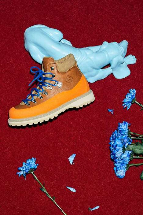 Durable Vibrant Hiking Boots
