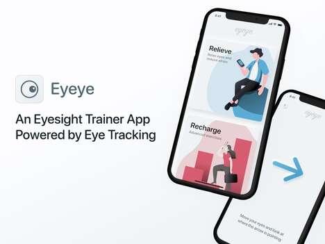 Smartphone-Powered Eyesight Trainers