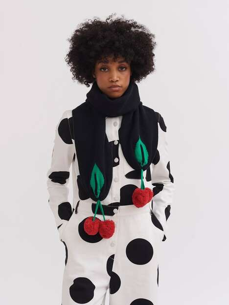 Novelty Fruit-Inspired Scarves