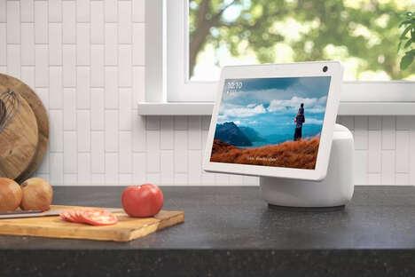 Swiveling Smart Home Hubs