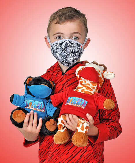Mask-Wearing Plush Toys