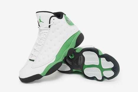 Green Tonal Minimal Sneakers