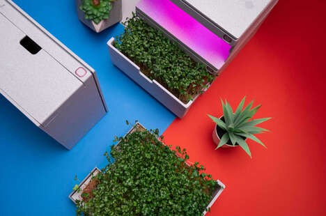 Enclosed Self-Sufficient Micro Gardens