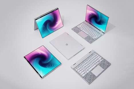 Shapeshifting Search Engine Laptops