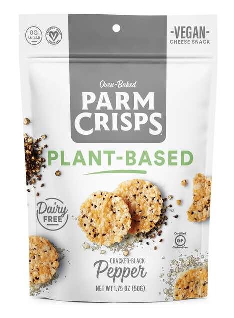 Cheesy Plant-Based Crisps