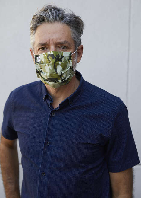 Charitable Fashion-Forward Face Masks