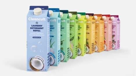 Laundry Detergent Cartons