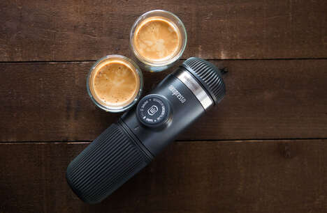 Portable  Hand-Powered Espresso Machines