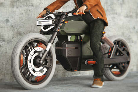 Swappable Battery Electric Motorcycles