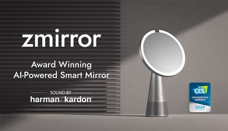 Voice-Controlled Smart Mirrors