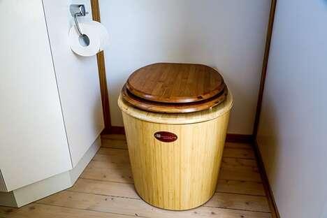 Waterless Bamboo Toilets
