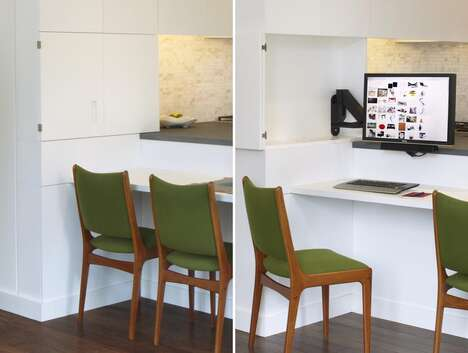 Hidden Kitchen Workstations
