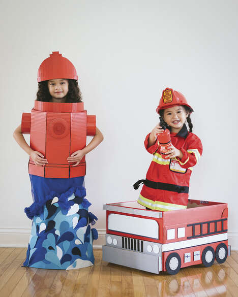 Upcycled Box Costumes