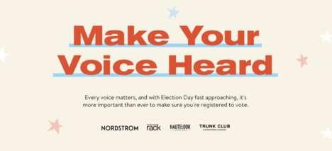 Curbside Voter Registration Hubs