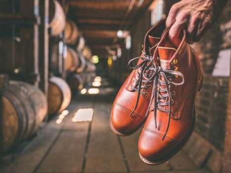 Bourbon Barrel-Made Boots