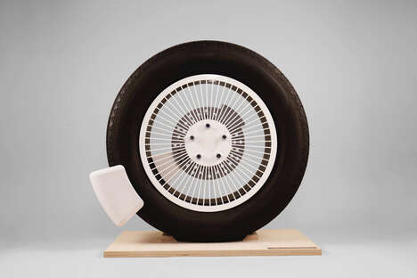 Microplastic-Capturing Tire Devices