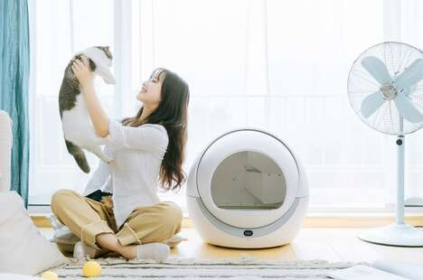 Automatic Self-Cleaning Litter Boxes