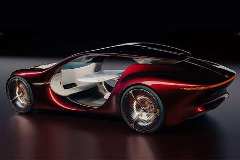 Visionary Autonomous Electric Vehicles
