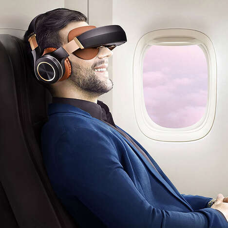 WiFi-Connected Cinema Headsets