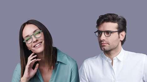 Flexing Magnetic Hinge Eyewear