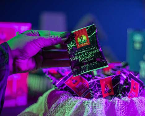 Glow-in-the-Dark Raisin Snacks