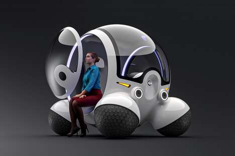 Spherical Pod-Like Vehicles