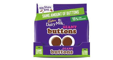Reduced Packaging Chocolates