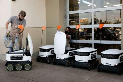 Robotic Grocery Deliveries