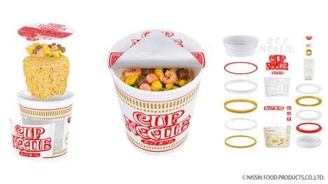 Ramen Noodle Model Kits