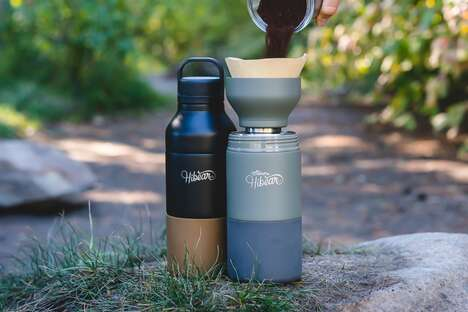 Multifunctional Portable Beverage Vessels
