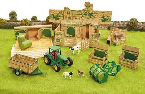 Sustainable Farm Playsets