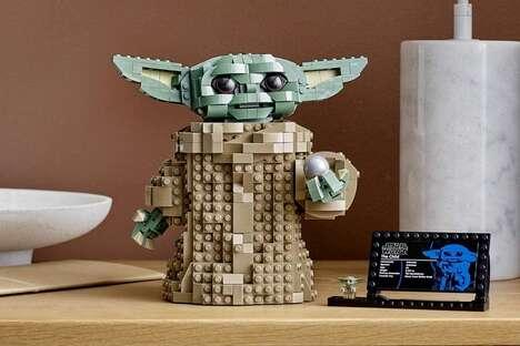 Sci-Fi Building Block Figures