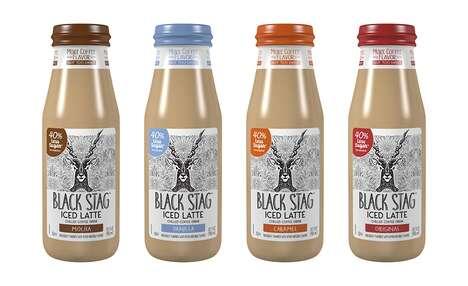 Reduced Sugar Bottled Lattes