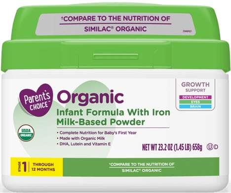 Iron-Enriched Baby Formulas