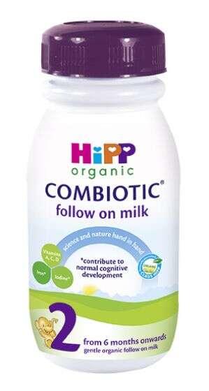 Organic Ready-to-Drink Baby Milks