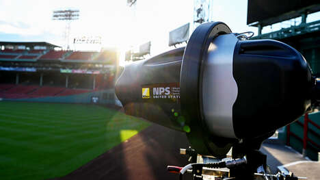 Robotic Baseball Cameras