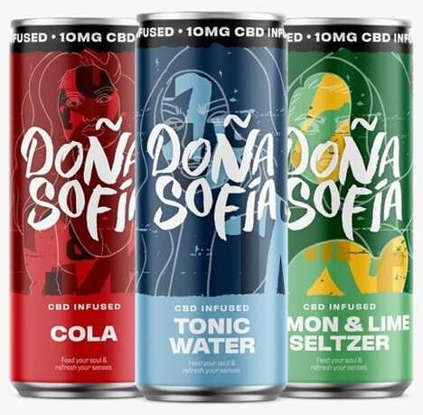 Accessible CBD Soda Refreshments