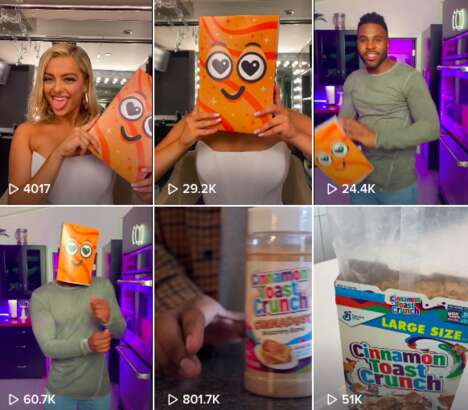 Cereal Box Dance Challenges