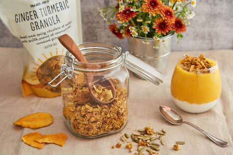 Warming Turmeric-Infused Granolas