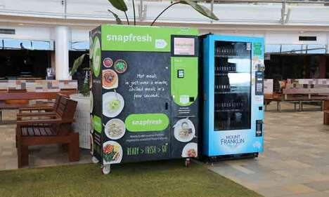 Ready-Made Meal Vending Machines