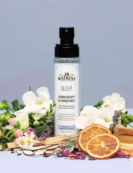 In-Shower Aromatherapy Mists